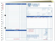 Cash  Carry Register Forms  Size   X    Consecutive