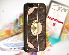 Louis Vuitton Bag - design for iPhone 5 Black case