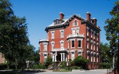 America's Most Haunted Places: Kehoe House. Kehoe House, Savannah, GA 12 of 20   In 1892, the wealthy Kehoe family built a Queen Anne–style mansion in Savannah's Columbia Square for $25,000. As the story goes, they lived there happily with 10 children until the young twin girls died while playing in a chimney. Many staff and guests, particularly those who stay in rooms 201 and 203, have