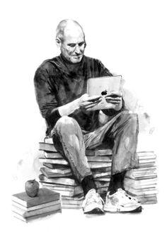 Steve Jobs by Berto Martínez
