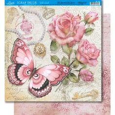 Ideas For Vintage Paper Butterflies Roses Decoupage Vintage, Vintage Diy, Vintage Labels, Vintage Cards, Vintage Paper, Vintage Flowers, Printable Vintage, Paper Butterflies, Butterfly Art