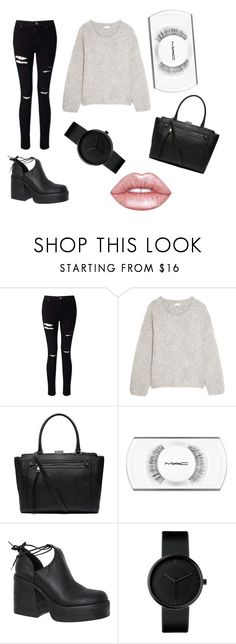 """Sin título #41"" by aaiins on Polyvore featuring moda, Miss Selfridge, Chloé, Witchery, MAC Cosmetics, Windsor Smith y Lime Crime"