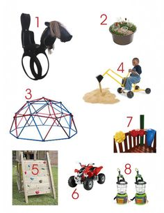 Fun outdoor toys!