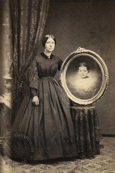 Victorian Era mourning photography