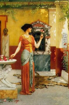 By John William Godward - what colours!
