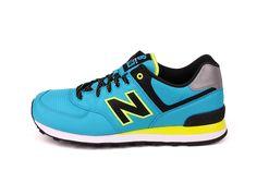 gave New Balance 574 (Blauw)
