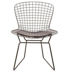 Replica Harry Bertoia Side Chair - Powder Coated Frame