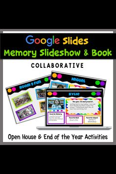 Browse over 110 educational resources created by Make Way For Tech in the official Teachers Pay Teachers store. Kindergarten Books, Kindergarten Graduation, End Of The Year Celebration, End Of Year Activities, End Of School Year, School Programs, Google Classroom, Memory Books, Teacher Hacks