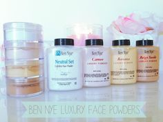 She explains what each Ben Nye powder does!! BEAUTYEXCEL: Ben Nye Luxury Face Powders
