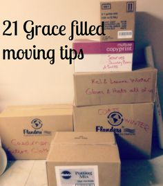 grace filled moving advice    moving advice, moving tips, moving with kids, grace filled moving, community moving tips, crowd sourced moving tips