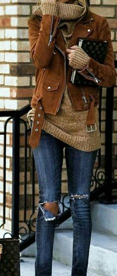 How to wear fall fashion outfits with casual style trends Winter Layering Outfits, Stylish Winter Outfits, Fall Fashion Outfits, Look Fashion, New Fashion, Trendy Fashion, Winter Fashion, Casual Outfits, Womens Fashion