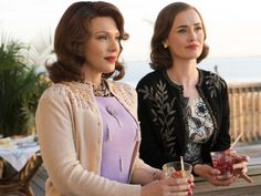 Still of Dominique McElligott and Erin Cummings in The Astronaut Wives Club (2015)