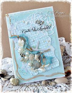 Сундучок Olli: Морская свадьба Cruise Scrapbook, Album Scrapbook, Marianne Design Cards, Nautical Cards, Beach Cards, Card Making Tips, Fun Fold Cards, Friend Birthday Gifts, Artist Trading Cards