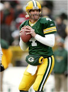 Best Green Bay Packers QB ever Brett Favre #4