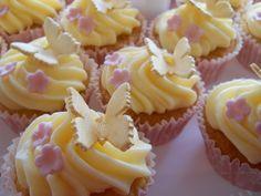 Nikki butterfly cupcakes