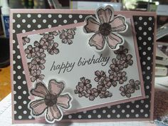 Kristin's Cards and Creations: Birthday Blossoms