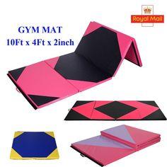 10FT Folding Gymnastics Tumbling Floor Mat Yoga Exercise Fitness Pilates Gym SY | Sporting Goods, Fitness, Running & Yoga, Equipment & Accessories | eBay!