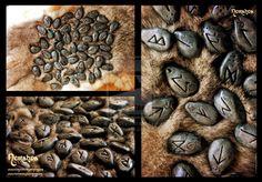 Runestones by LuthienSecrets Norse Viking Dwarven runes cosplay costume LARP LRP… Viking Symbols, Viking Art, Viking Runes, Nerd Poker, Call Of Cthulhu, Celtic Patterns, Norse Vikings, Sword Art, Writing Inspiration