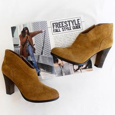 Booties are our favorite shoe this fall because they can go from day to night easily! #sacramento #fashion #freestylefind #shoes #style