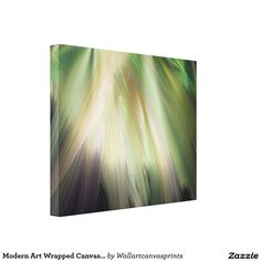 Modern Art Wrapped Canvas Print