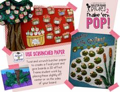 Beating the Bulletin Board Blues 2:  Make 'Em POP! Ideas for making the most of your classroom displays.