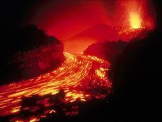 火山 自然の力 自然 高解像度で壁紙