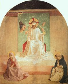 Angelico, Fra - The Mocking of Christ (with Benozzo Gozzoli)