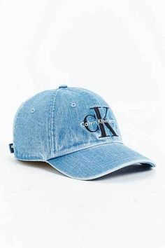 Calvin Klein Denim Baseball Cap See 856c0cc719cd