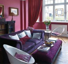 """It is true what they say...""""life comes full circle."""" When I was 5+, I had a purple room, biggest Donny Osmond fan. Never had another purple room since. Now...would do it in a heartbeat!"""