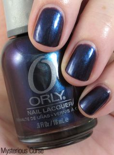 This is my fave shade from the new ORLY Dark Shadows Collection for May 2012! (Mysterious Curse)