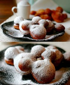 Mickey Mouse beignets!