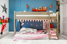 the boo and the boy: bunk beds