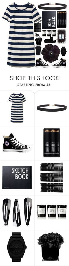 """🕶🕶🕶"" by gucci-af ❤ liked on Polyvore featuring L.L.Bean, Humble Chic, Converse, Design Letters, Monki, NLY Accessories, Byredo, adidas Originals and Hervé Gambs"