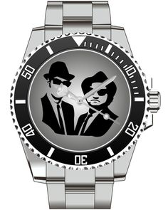 Blues Brother - KIESENBERG ® Uhr 2511 von UHR63 auf Etsy