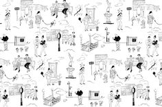 To Download: New York City Toile