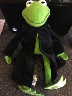 "DISNEY STORE 17"" Plush CONSTANTINE Most Wanted MUPPET Lg Movie Kermit Frog #DisneyStore"