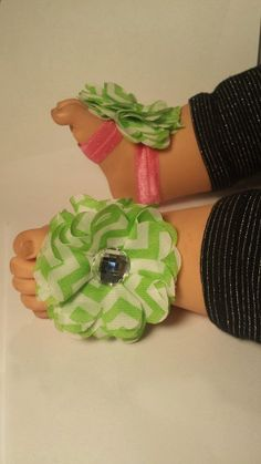 Bare foot sandal by 3CraftinSisters on Etsy, $8.00