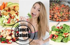 Get Healthy With Me | Lunch Salads!  watch?v=9YEBHl3DI4o&list=UUVsTboAhpnuL6j-tDePvNwQ