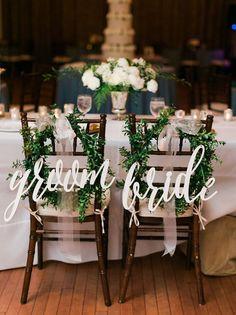 Decoração | Como decorar a cadeira dos noivos - Portal iCasei Casamentos