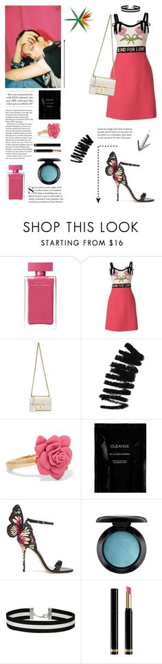 """""""EXO- Kai 'Ko Ko Bop' 3/5"""" by abieminie ❤ liked on Polyvore featuring Narciso Rodriguez, Gucci, Bobbi Brown Cosmetics, Marc by Marc Jacobs, Cleanse by Lauren Napier, Sophia Webster, MAC Cosmetics and Miss Selfridge"""