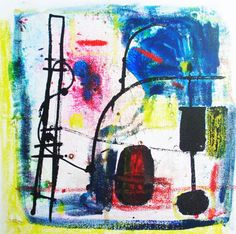 Abstract Art. Original Abstract Painting. by Outlook8studio