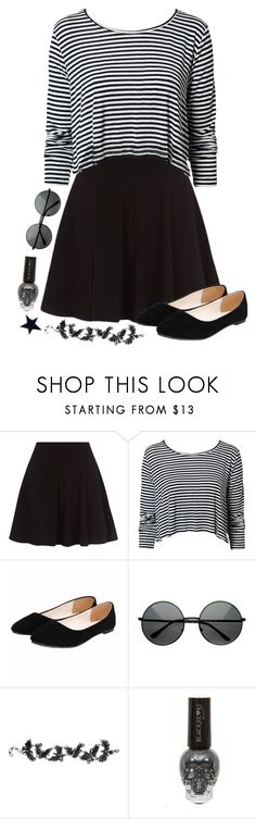 """t r o u b l e i s b r e w i n g ; i c a n f e e l i t"" by weirdestgirlever ❤ liked on Polyvore featuring NLY Trend and Hot Topic"