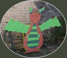 Activités anniversaire chevalier : attaquer le dragon (lancer d'anneaux)
