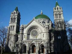 Cathedral Basilica in St Louis.