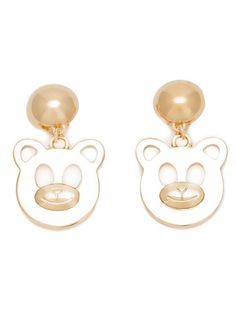 Shop Moschino teddy bear earrings in Al Ostoura from the world's best independent boutiques at farfetch.com. Over 1500 brands from 300 boutiques in one website.