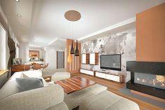 Projekt domu Sfinks VI 94,85 m2 - koszt budowy - EXTRADOM House Design Pictures, My House Plans, Shag Rug, Construction, Mirror, Studio, Furniture, Home Decor, Costa Rica