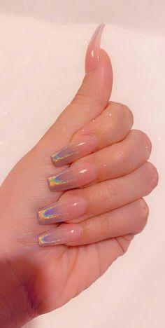 Cute Acrylic Nails 601934306433604926 - Holographic Laser Nail Polish – Holographic Laser Nail Polish Flourish Series Varnish Shining Glitter Nail Art Lacquer Polish # – Source by Summer Acrylic Nails, Best Acrylic Nails, Spring Nails, Simple Acrylic Nails, Acrylic Nail Art, Simple Stiletto Nails, Acrylic Nails Chrome, Pink Chrome Nails, Cute Simple Nails