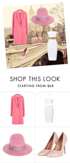 """""""All in pink 💕"""" by sara-melgar on Polyvore featuring Harris Wharf London, Gucci, Topshop and Aspinal of London"""