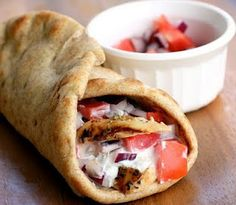 chicken gyros... a staple meal at our house, I'll have to try this one!