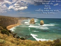 We can change our lives...